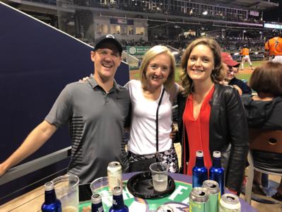 Chris Wallace, Sarah Wallace, and Austyn Matheson