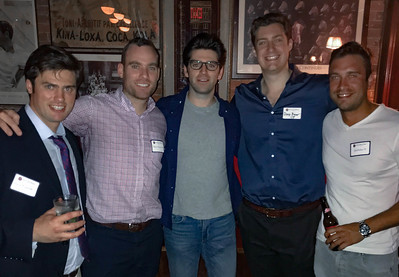 Jason Torey '09, Blaise Driscoll '08, Michael Driscoll '08, Doug Beyer '08, and James Eichas '07