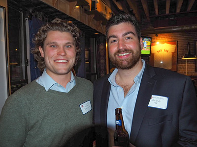 Harrison Wasserbauer '12 and Mac Daly '11