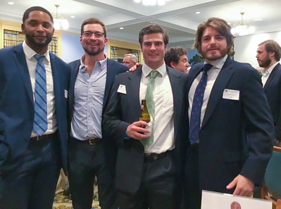 John Van Allen '13, Ian Lindahl '12, Jason Torey '09, and Tom Carroll '05