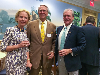 Meg Galea, Jon Salony '64, and Henry Coons '71, P'07