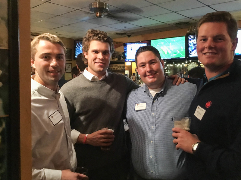 Pat Wallace '12, Harrison Wasserbauer '12, RJ Fiondella '12, and Will Ryan '12