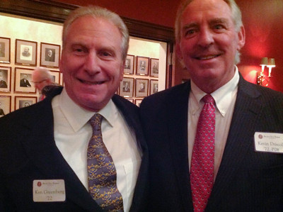 Ken Greenberg '72 and Kevin Driscoll '72, P'08