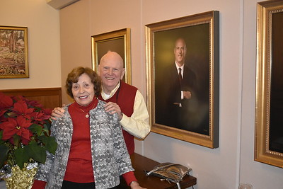 Dottie Graham P'84, '85, and Gerry Graham P'84, '85