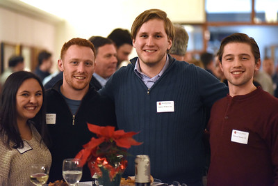 Anna Dam, Orion Marco '16, Andrew Waltzer'16, and Nathaniel Shemo '16
