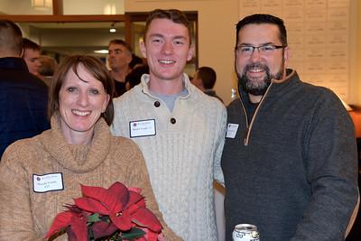 Michelle Voegtle P'17,  Hayden Voegtle '17, and Eric Voegtle P'17