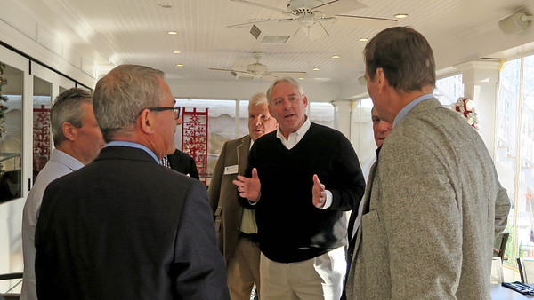 Larry Hammerman '71, Kevin Driscoll '72, P'08, Henry Coons '71, P'07, and Tim Trautman '75, P'03