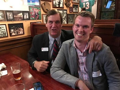 Tim Trautman '75, P'98, and Cooper O'Connor '11