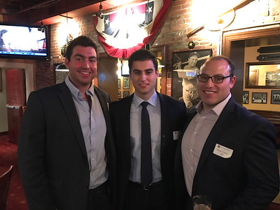 Mac Daly '11, Joey Cusano '11, and Matt Lauro '09