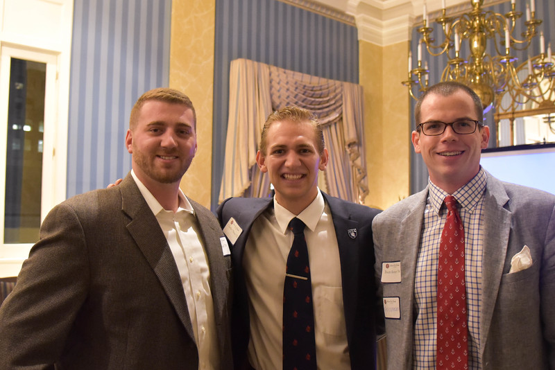 Nick Sica '08, Charles O'Brien '12, and Brett Kreter '04
