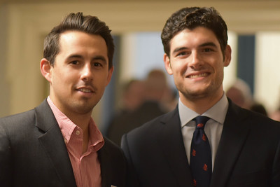 Alex Miller '10 and Kristofer Molinaro '12