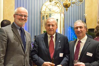 Headmaster Ken LaRocque P'01, '10, Bill Heyman P'11, and Jim Detora P'12