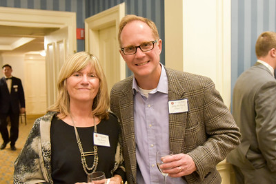 Sue Evans P'97 and John McElroy P'17