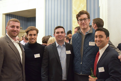 Nick Sica '08, Brad Cooper '08, Paul Severni '07, Doug Beyer '08 and Matt Giamalis '07