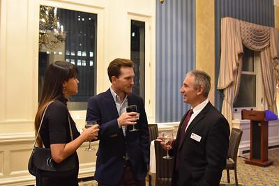 Joyce Sheridan, Patrick Sheridan '04, and Jim Detora P'12