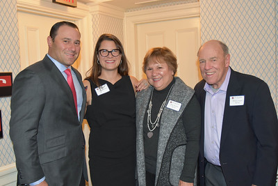 Board Member Bill Austin '92 with wife Becky Austin, mother Jane Austin P'92 and father William Austin P'92