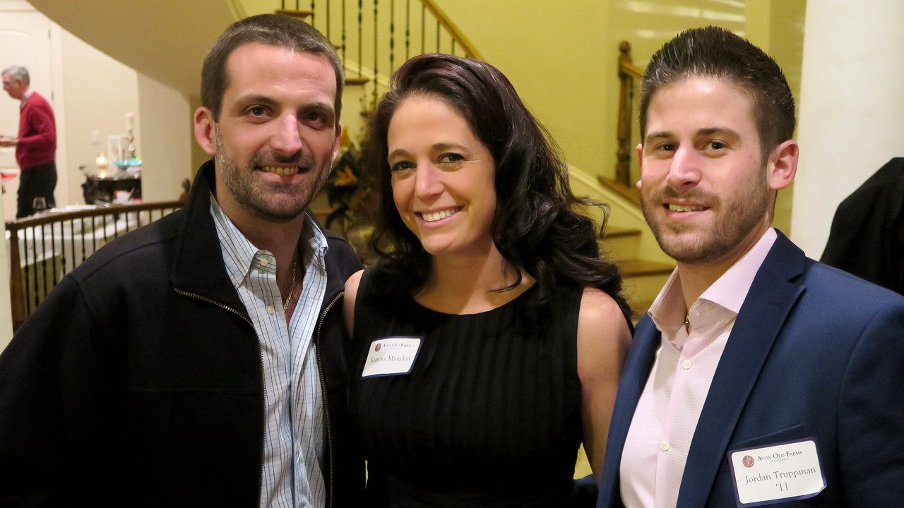Ryan Matalon '04, Jeanna Matalon, and Jordan Truppman '11