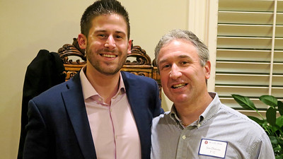 Jordan Truppman '11 and Jim Detora P'12