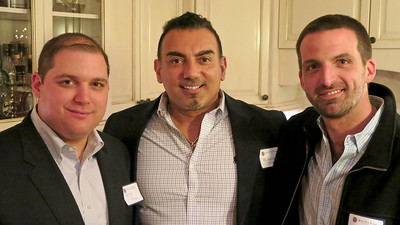 Matt Murray '98, R.C. Sayyah '82, P'18, and Ryan Matalon '04