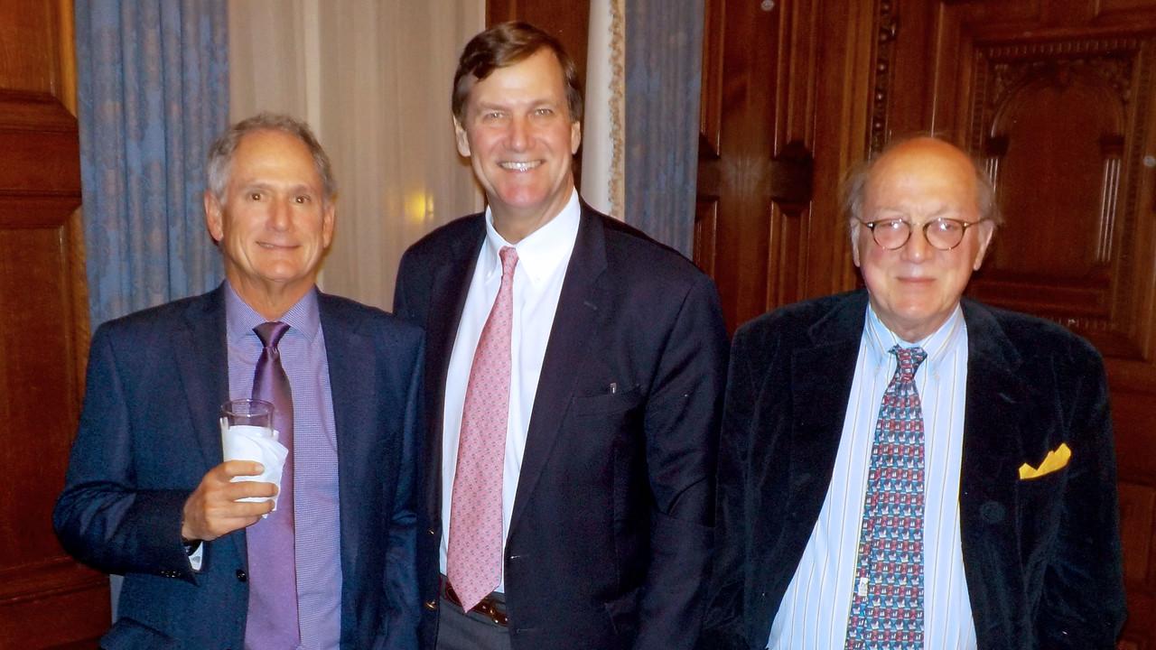 Tim Trautman '75, P'03, and Rusty Avery '67