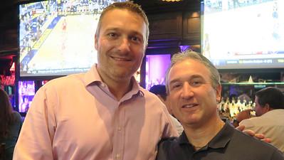 Peter Obre '96 and Jim Detora P'12