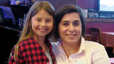 Sophia LaBonte and Robin Delnicki