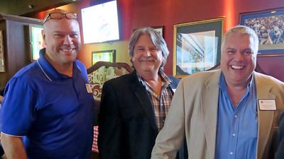 Todd Johnson '85, Nick Wells '70 and Greg Richard P'08, '11
