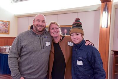 Ross Dufresne '96, Erin Dufresne and Tyler Dufresne