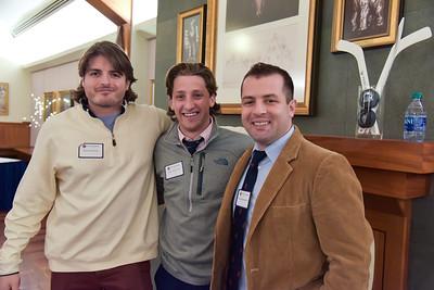 Tom Carroll '05, Travis Kozak '14, and Luke Archambault '04