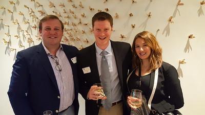 Matt Moran '04, Mike Finnegan '04, and Nicole Finnegan
