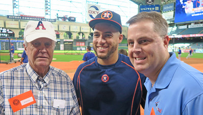 Adams McHenry '56, George Springer '08, and Ad McHenry