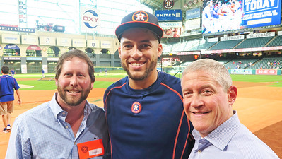 Adam Josef '94 & George Springer '08 & Richard Kaplan '82