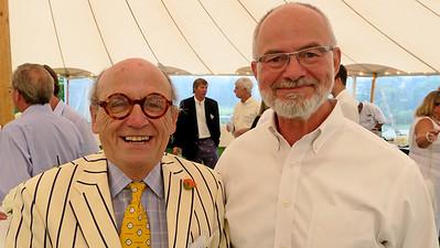 David Billings '66 and Ken LaRocque P'01, '10