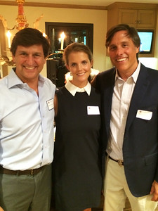 Mark Masinter '82, Caroline Brown, and Robin Brown '91