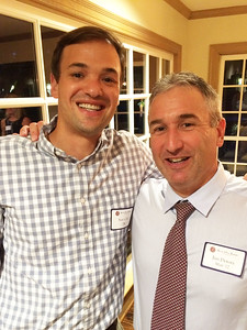 Sam Cole '04 and Jim Detora P'12