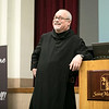 Fr. Denis Robinson, OSB, presented a conference on evangelization to the millennial generation.