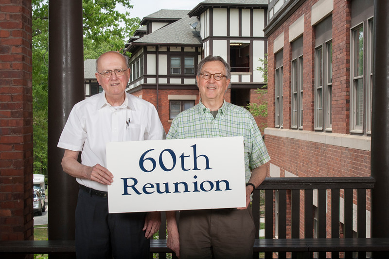 60th - Class of 1956<br /> Bob Folsom, Martin Dodenhoff
