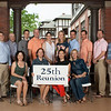 25th - Class of 1991<br /> 1st row: Jeannie Graham, Kelly Coleman Prewitt, Marilyn Higi Kinkaid, Sarah-Hamlin Cogswell Hastings<br /> 2nd row: Jake Garbarino, Burton Milnor, Tim Akers, Dan Mottern, Preston Grimes-Davitt, Allison McBride, Chris Castellanos, Cory McNinch, Reaves McLeod, Britt Faunce