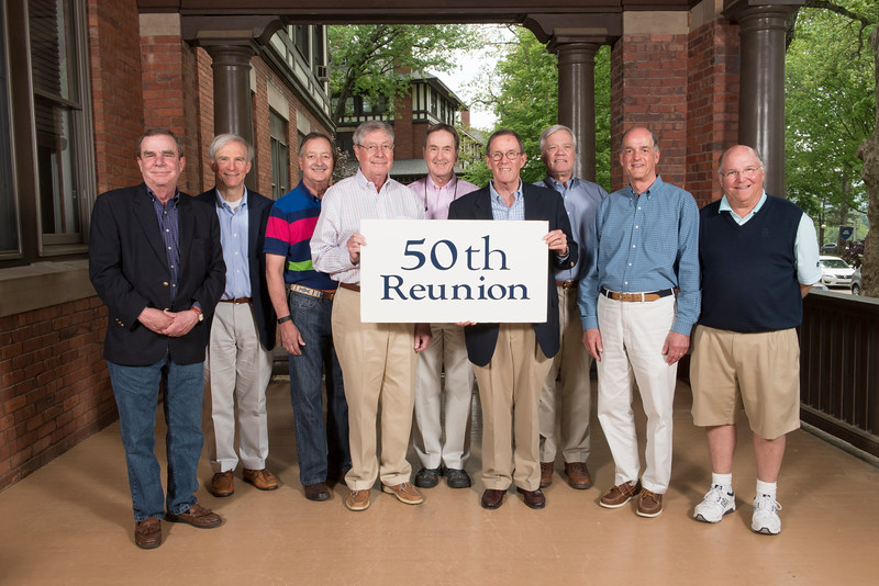 50th - Class of 1966<br /> Phil Clarke, Richard Goldner, Ray Hauschel, G. E. Wilson, Bob Walter, John Warren, Jim Newman, George Bagley, Bob Crawford