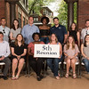 Class of 2012 - (first row) Gunnar Hamilton, Kate Fitzsimmons, Sonya Robinson, Katharine Harvard, Marissa Wolf, Caroline Ellis; (second row) Christophe Agricola, Hallie Veteto, Michael Schill, Darrah Johnson, Anthony Cammarata, Emily Soule, Taylor Smith