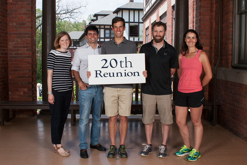 Class of 1997 - Jane Lawrence Spencer, Victor De Sa Cavalcante, James Pharr, Michael Malone, Jessica Campbell Copland