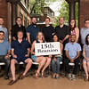 Class of 2002 - (first row) Taylor Loomis, Tuch Lawson, Sarah Heedy Folk, Julia Steinfield, Gary Shields, Mary Robinson; (second row) Chris Boehner, Oliver Collins, Ben Schoer, Tyler Whatmore, Bill Schaller, Remy Heskett, Jeremy R. Andersson