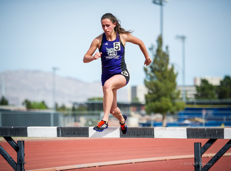 Maddie (Ball) Cannon at the UNLV Spring Invite 2016