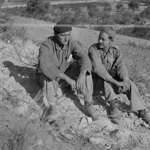 Portland roomates William N. Miller of Lincoln-Washington, and Harry Randall, Comisariado [Commissariat], Corbera Sep 1938