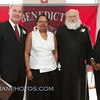 Communion Breakfast Honorees:<br /> (L-R) Jim Delaney, Shirley Walker, Fr. Augustine &<br /> Hon. Harold Fullilove Sr.