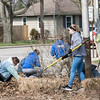 The Saint Meinrad Day of Service in Evansville, IN, was held on March 10, 2018. Volunteers helped clean at Wesselman Park, while others worked at the St. Vincent de Paul Thrift Store.