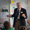 On Monday, November 9, renowned Marine Geologist Dr. Peter Rona '52 visited Friends to share his knowledge of the ocean floor with 4th and 9th graders. Students learned about Dr. Rona's discoveries of the deep sea.