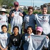 McMurry Serves volunteers in Amarillo helping at the High Plains Food Bank garden.