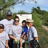 McMurry Serves volunteers in Midland helping out at the I-20 Wildlife Preserve.