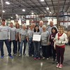 McMurry Serves volunteers in Albuquerque helped at the Roadrunner Food Bank.